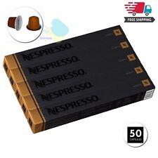 Nespresso Originalline Espresso Capsule Livanto Coffee 50Count Pods Brews 1.35Oz
