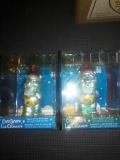 (2) Care Bear Wish Glass Christmas Tree Ornaments In Original Packaging