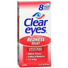 Clear Eyes Redness Relief Sterile Eye Drops - 0.2 oz