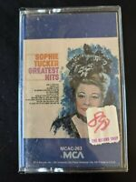 Sophie Tucker - Greatest Hits (MCA) Cassette Tape *NEW (a)