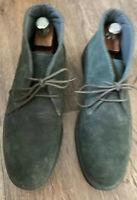 Mens G.H Bass & Co Timothy Grey Suede Ankle Boots Size UK 10. Worn Once