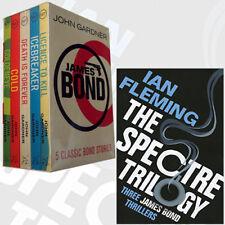 John Gardner James Bond 007 and The SPECTRE Trilogy Collection 6 Books Set NEW