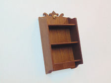 Dollhouse Miniature 1:12 Scale Shelf - Artist made Furniture