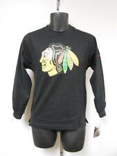 NEW-MENDED NHL Chicago Blackhawks YOUTH Medium M 10/12 REEBOK Shirt