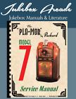 Revised! Super Rare! Packard Pla-Mor Model 7 Service Manual from Jukebox Arcade