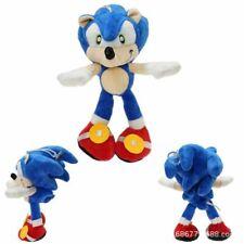 Sega Sonic the Hedgehog Sonic Plush Toy Soft Stuffed Doll Kids Cute Blue Gifts