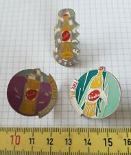 Sinalco Flaschen Pins, the big wave/ titanic surprise/ on the rocks - 3er Set