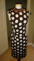 PHASE EIGHT Stretch Wiggle Pencil Dress Size UK 10 Party Evening