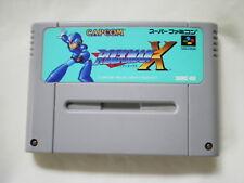 ROCKMAN X SFC Nintendo Game Soft Super Famicom JAPAN