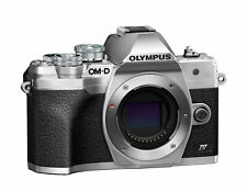 Olympus OM-D E-M10 Mark IV 20.3MP Mirrorless Camera - Silver (Body Only)