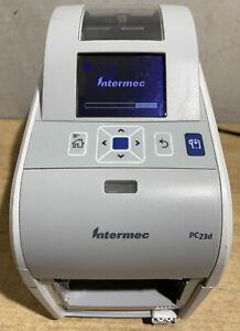 Intermec PC23d Label Barcode Printer With PSU