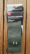 Under Armour Hitch Charged Wool Mens Boot Socks Size Large