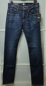 MADE IN THE U.S.A - 7 FOR ALL MANKIND PAXTYN SKINNY JEANS MEN 30x32