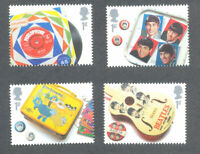 The Beatles mnh set 4 x 1st class valid stamps Great Britain -pop music-