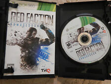 Red Faction: Armageddon (Microsoft Xbox 360, 2011)