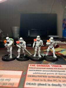 UPGRADE Imperial Stormtroopers Expansion Star Wars: Legion PAINTED
