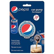 Jokari Pepsi Modern Can Soda Fresh Pump & Seal Fizz Keeper
