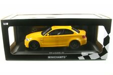 Bmw 1er M Coupe' 2011 Yellow 1 18 Model Minichamps