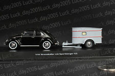 SCHUCO VW Brezelkäfer mit Sportberger G2 1/43 Discast Model