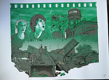 SUPER 8 Movie. SUPER 8 by CHARLES MORAN. Limited Ed Print. Bad Robot. Spielberg