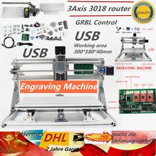 3 Axis USB 3018 GRBL DIY Mini CNC router fresatura incisione PCB senza laser