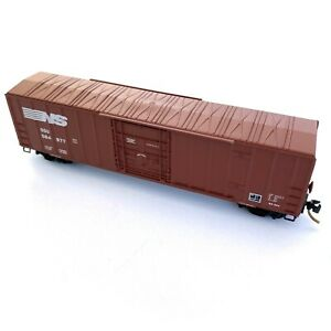 N Scale 50' Ribside Box Car MICRO-TRAINS #27230 Norfolk Southern 584877
