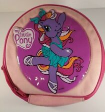 "Hasbro My Little Pony Storage Case Tote Lunch 9"" 2005 Jakks"