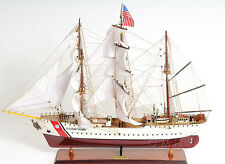 "USCG Eagle Training Tall Ship 36"" Wooden Model US Coast Guard Barque New"