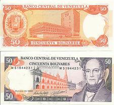 - Venezuela 50 Bolivares 13. 10. 1998 UNC Pick 65f