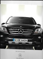 MERCEDES BENZ M CLASS ML280CDI, ML320CDI, ML350 AND ML500 CAR BROCHURE 2004 2005