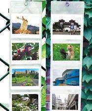 2pc Hanged Wall Album for Fujifilm Instax 210 Wide Polaroid Camera Photo Film