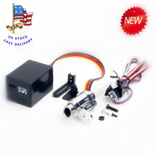 US RC Alloy Exhaust Pipe Electronic Simulation Smoking Upgrade Kit For 1/10 Car