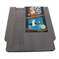 SUPER MARIO BROS & DUCK HUNT Nintendo NES Game Cartridge Vintage Retro Collector