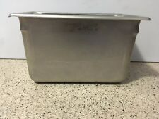 "Vollrath 30462 6"" Deep Super Pan V Stainless Steel Fourth-Size Steam Table Pan"