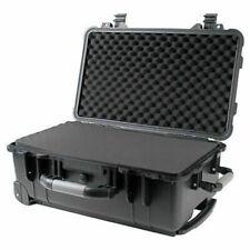 """22"""" Weatherproof Marine Rolling Case Drone Camera Gun w/ Pelican 1510 Style Foam"""