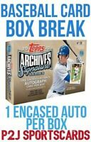 Topps 2020 Sig Series Baseball Card Box Break - 1 Random Team⚾️MLB⚾️Break 4208