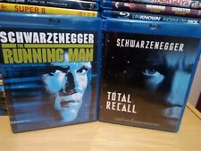 The Running Man & Total Recall Blu Ray US Import Region A