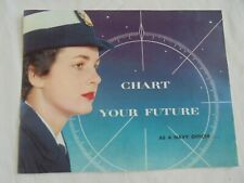 1959 Chart Your Future - As a Navy Officer Us Navy Women's Recruiting Booklet