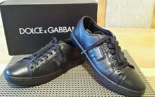 DOLCE&GABBANA MENS STUNNING TRAINERS SIZE UK8 FIT UK9 GENUINE VGC WITH BOX