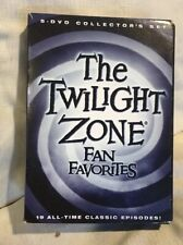 Twilight Zone Fan Favorites 5-Disk Set  *MINT / NEW Condition