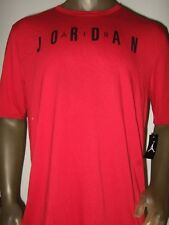new arrival a5e90 a1f69 Men s Red L-xxxl Nike Air Michael Jordan Basketball Sport Jump-man Tee Shirt