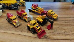 Matchbox Lorry Construction Bundle