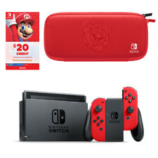 Nintendo Switch Console & Case - Red/Black