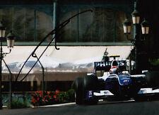 Kazuki Nakajima mano firmado AT&T Williams F1 Foto 7x5 9.