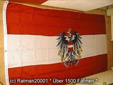 Fahnen Flagge Österreich mit Wappen - 1 - 150 x 250 cm