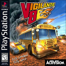 Vigilante 8 PS1 Great Condition Fast Shipping