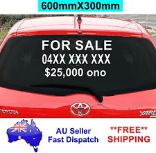 FOR SALE Sticker with your Phone Price 600mm CAR Window vinyl Decal Custom sign