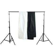 Hintergrundsystem 380 Foto-Hintergrundstoff Fotostudio-Hintergrund schwarz weiß