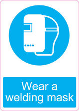 Wear Welding Mask | health and safety | 205 x 290mm