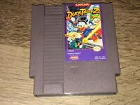 DuckTales 2 Nintendo Nes Cleaned & Tested Authentic